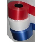 "3 Rolls 2"" Ribbon Red /white/blue Royal Wedding 300yds"