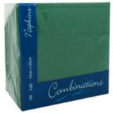 Holly Green Lunch Napkins - 33cm, 2ply, 100pk