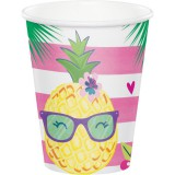 Pineapple 'n' Friends - Paper Cups 8pk - 332425