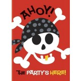 Pirate Party - Ahoy Invitations, 40504