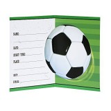 Football Design Party Invitations - 27314