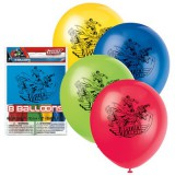 Justice League Latex Balloons 8pk 49975