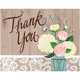 Rustic Design Thank You Cards - 89-1706