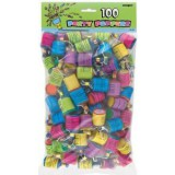 Party Poppers PACK OF 100