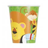 Animal Jungle Paper Cups 8pk - 52086