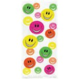 Cello Bags - HAPPY FACE, pk / 20 - 62006