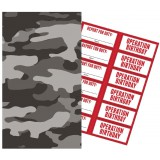Operation Camo - Paper Treat Bags with Stickers