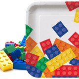 "Block Party LEGO inspired 7"" Party Plates-102052"