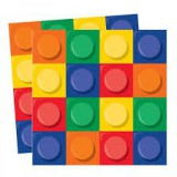 Block Party LEGO Inspired Napkin-102050