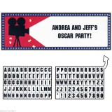 Giant Hollywood Themed Party Banner - 297533