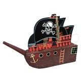 "Pirate Ship Pinata (17.5""H x 26""W)"