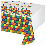 Block Party - LEGO inspired plastic party tablecover