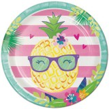 Pineapple 'n' Friends - Paper Plates 8pk - 332420