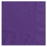 Purple Napkins 2ply, 33 cms, pack / 20