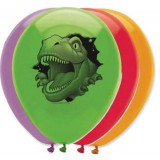 Dino Blast - Pack/6 Latex Balloons