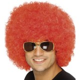Afro Red Funky Wig